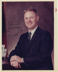 """Autographs:Celebrities, Don Lind Signed Color Photograph, 8"""" x 10"""", """"To Joe with/ sweat& best/ wishes/ Don Lind."""" Lind, a scientist, went into ...(Total: 1 Item)"""