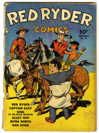 "Red Ryder Comics #10 Davis Crippen (""D"" Copy) pedigree (Dell, 1942) Condition: GD-"