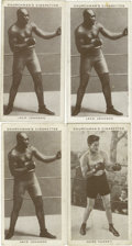 Boxing Cards:General, 1938 Churchman's Boxing Group Lot of 86. Included are a near set(43/50) and 47 duplicate cards. Duplicates include (2) #3 M...