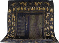 Rugs & Textiles:Other , A Chinese Needlework Panel. Chinese. Circa 1900. Silk, metallicthread. 132 x 124 inches (335.3 x 315.0 cm). ...