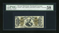 Fractional Currency:Third Issue, Fr. 1341 50c Third Issue Spinner Type II PMG Choice About Unc 58....