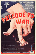 """Movie Posters:Documentary, Prelude to War (War Activities Committee, 1943). One Sheet (27"""" X 41"""").. ..."""