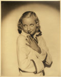 "Movie Posters:Miscellaneous, Carole Lombard Lot (Early 1930s). Portrait Photo (10.5"" X 13.5"")....."