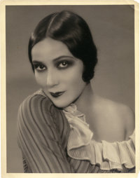 """Dolores del Rio by Ruth Harriet Louise (MGM, 1920s). Portrait Photo (11"""" X 14"""")"""