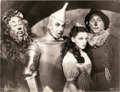 """Movie Posters:Fantasy, The Wizard of Oz (MGM, 1939). Cast Photo (10"""" X 13"""").. ..."""
