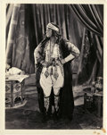 """Movie Posters:Adventure, Rudolph Valentino in """"The Son of the Sheik"""" (United Artists, 1926).Photo (8"""" X 10"""").. ..."""