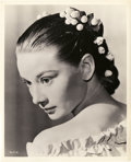 "Movie Posters:Romance, Audrey Hepburn (Early 1950s). Photo (8"" X 10"").. ..."