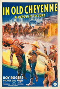 "Movie Posters:Western, In Old Cheyenne (Republic, 1941). One Sheet (27"" X 41"").. ..."