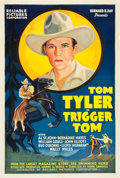 """Movie Posters:Western, Trigger Tom (Reliable, 1935). One Sheet (27"""" X 41"""").. ..."""