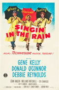 "Movie Posters:Musical, Singin' in the Rain (MGM, 1952). One Sheet (27"" X 41"").. ..."