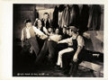 """Movie Posters:Comedy, The Three Stooges in """"How High is Up?"""" by Shirley V. Martin(Columbia, 1940). Keybook Photo (8"""" X 11"""").. ..."""