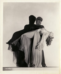 """Lon Chaney Jr. and Evelyn Ankers in """"The Wolf Man"""" (Universal, 1941). Photo (8"""" X 10"""")"""