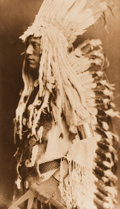 Photographs, EDWARD SHERIFF CURTIS (American, 1868-1952). The North American Indian: Old Person - Piegan, plate 204, 1911. Photogravu...