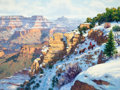 Western:Contemporary, KARL THOMAS (American, b.1948). Winter in the Canyon. Oil on canvas. 30 x 40 inches (76.2 x 101.6 cm). Signed lower righ...
