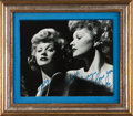 Movie/TV Memorabilia:Autographs and Signed Items, Lucille Ball Inscribed Photo to Husband Gary Morton....