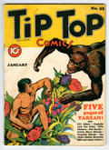 Golden Age (1938-1955):Miscellaneous, Tip Top Comics #33 (United Features Syndicate, 1939) Condition: FN-....