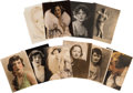 Movie/TV Memorabilia:Autographs and Signed Items, Assorted Silent Era Starlet-Signed Photos.... (Total: 10 )