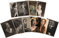 Movie/TV Memorabilia:Autographs and Signed Items, Assorted Silent Era Actress-Signed Photos.... (Total: 10 )