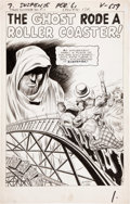 Original Comic Art:Panel Pages, Jack Kirby and Dick Ayers Tales of Suspense #30 Splash page1 Original Art (Marvel, 1962)....