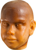 Movie/TV Memorabilia:Memorabilia, Bud Westmore Designed Rosemary's Baby Head....