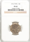 Proof Buffalo Nickels: , 1913 5C Type One PR65 NGC. PCGS Population (109/134). Mintage:1,520. Numismedia Wsl. Price for problem ...