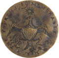 "Political:Inaugural (1789-present), George Washington: A 1789 ""Memorable Era"" Brass Inaugural ShankButton. ..."