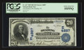 National Bank Notes:Pennsylvania, Reading, PA - $20 1902 Date Back Fr. 647 The Reading NB Ch. #(E)4887. ...