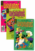 Bronze Age (1970-1979):Cartoon Character, Underdog File Copy Group (Gold Key, 1976-79) Condition: AverageVF+.... (Total: 11 Comic Books)