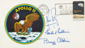 Autographs:Celebrities, Apollo 11 Crew-Signed Type II Insurance Cover Originally from thePersonal Collection of Mission Lunar Module Pilot Buzz Aldri...