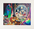 Original Comic Art:Miscellaneous, Carl Barks Dangerous Discovery Regular Edition Lithograph #77/350(Another Rainbow, 1993).... (Total: 2 Items)