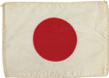 Explorers:Space Exploration, Apollo 14 Flown National Flag of Japan Directly from the PersonalCollection of Mission Lunar Module Pilot Edgar Mitchell....