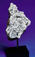 Explorers:Space Exploration, END PIECE OF NEW SILICATED IRON METEORITE - THE INTERIOR ANDEXTERIOR OF AN EXOTIC METEORITE REVEALED....