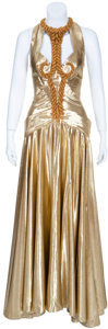 Movie/TV Memorabilia:Costumes, Madonna's Gold Gown from Evita....