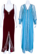 Movie/TV Memorabilia:Costumes, Edie Adams Stage-Worn Evening Gowns.... (Total: 2 )