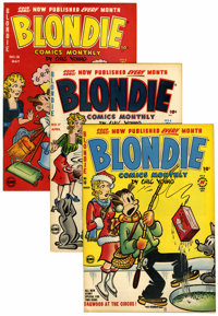 Blondie Comics Plus File Copy Short Box Group (Harvey, 1945-65) Condition: Average VF