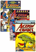 Modern Age (1980-Present):Superhero, Action Comics Group (DC, 1980-95) Condition: Average NM-....