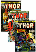 Bronze Age (1970-1979):Superhero, Thor #230-350 Short Box Group (Marvel, 1974-84) Condition: Average VF....