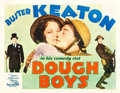 "Movie Posters:Comedy, Doughboys (MGM, 1930). Half Sheet (22"" X 28"") Style B.. ..."