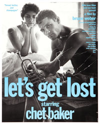 "Let's Get Lost (Little Bear, 1988). Small Size Promotion Posters (3) (17.25"" X 21.5""). Documentary. ... (Total..."