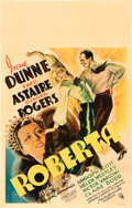 "Movie Posters:Musical, Roberta (RKO, 1935). Window Card (14"" X 22"").. ..."