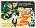 "Movie Posters:Science Fiction, It! The Terror from Beyond Space (United Artists, 1958). Half Sheet(22"" X 28"").. ..."