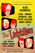 "Movie Posters:Comedy, The Ladykillers (Rank, 1955). British One Sheet (27"" X 40"").. ..."