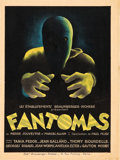 "Movie Posters:Thriller, Fantômas (Les Etablissements Braunberger- Richebe, 1932). FrenchPetite (11.75"" X 15.75"").. ..."