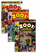 Bronze Age (1970-1979):Science Fiction, 2001: A Space Odyssey Western Penn pedigree Group (Marvel, 1976-77)Condition: Average VF/NM.... (Total: 17 Comic Books)