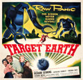"Movie Posters:Science Fiction, Target Earth (Allied Artists, 1954). Six Sheet (81"" X 81"").. ..."