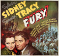 "Movie Posters:Crime, Fury (MGM, 1936). Six Sheet (81"" X 81"").. ..."