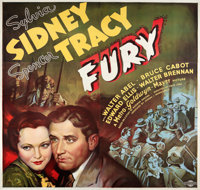 "Fury (MGM, 1936). Six Sheet (81"" X 81"")"