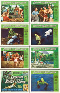"""Movie Posters:Horror, Creature From the Black Lagoon (Universal International, 1954).Lobby Card Set of 8 (11"""" X 14"""").. ... (Total: 8 Items)"""
