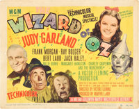 "The Wizard of Oz (MGM, R-1949). Title Lobby Card (11"" X 14"")"