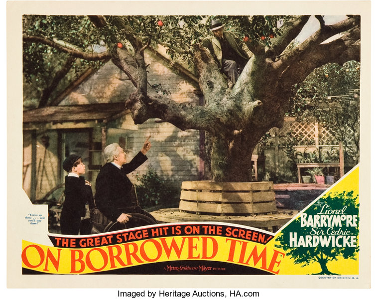 """On Borrowed Time (MGM, 1939). Lobby Card (11"""" X 14"""").. ... Movie   Lot  #84039   Heritage Auctions"""